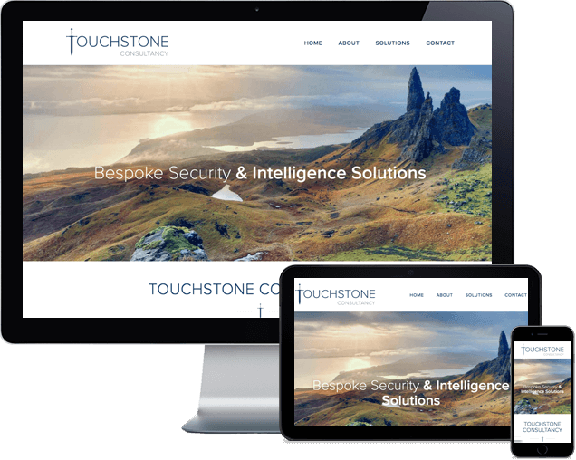 Touchstone Single Page Website