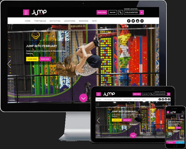 Jump Street Wordpress Website Design